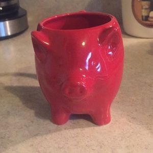 Other - 🐷  Cute Small Red Pig Coffee Mug